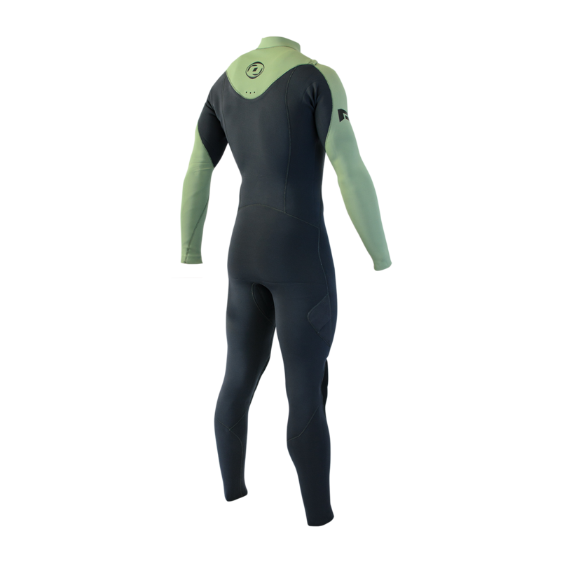 Man Wetsuit ONDA NFLEX 3/2MM Neoprene with Chest Zip for Surf