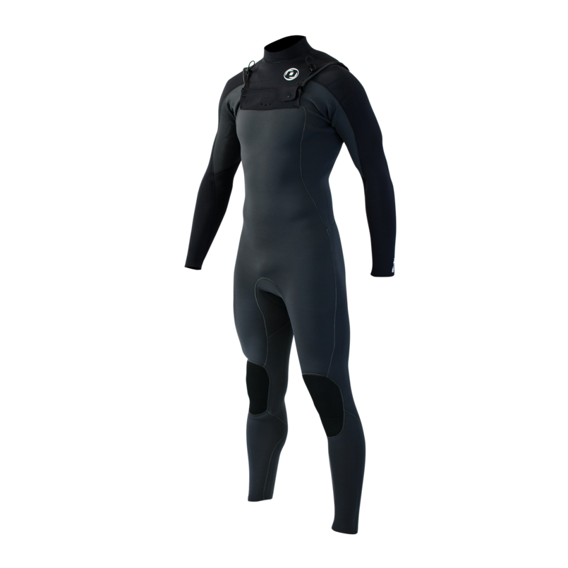 Man Wetsuit ONDA NFLEX 4/3MM Neoprene with Chest Zip for Surf