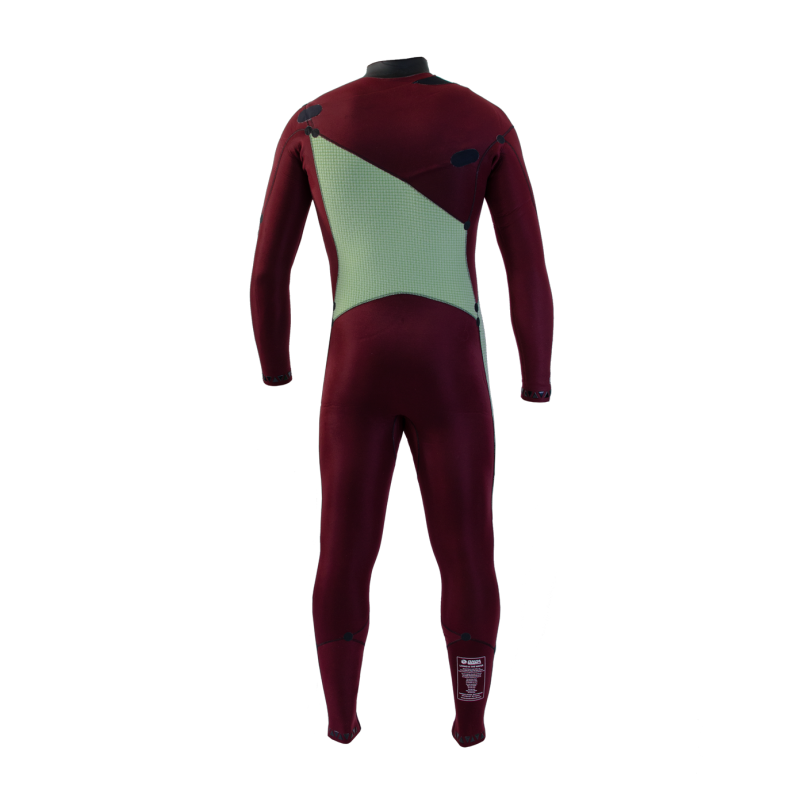 Man Wetsuit ONDA ZFLEX 4/3MM Neoprene with Chest Zip for Surf