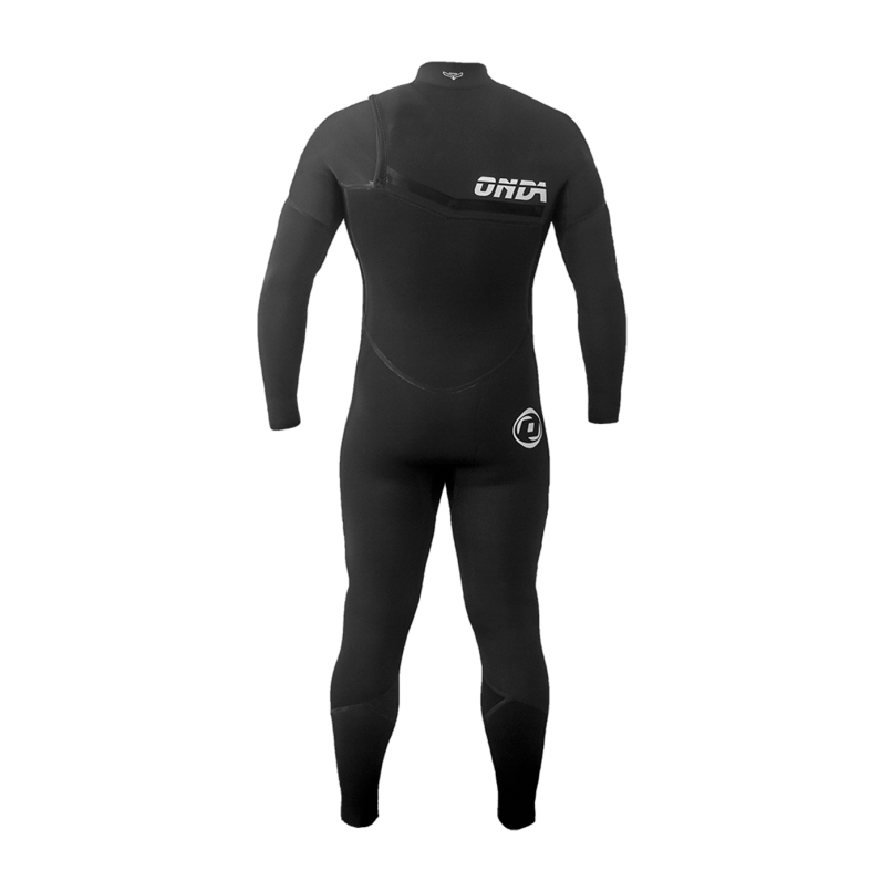 Man Wetsuit ONDA FREEDOM 4/3MM Neoprene Zipperless for Surf